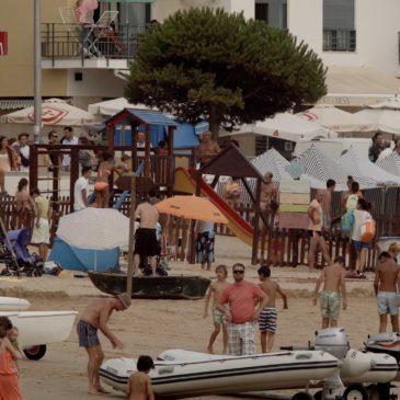 Beach life without sun, Praia de São Martinho do Porto