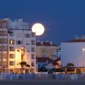 Last night's full moon
