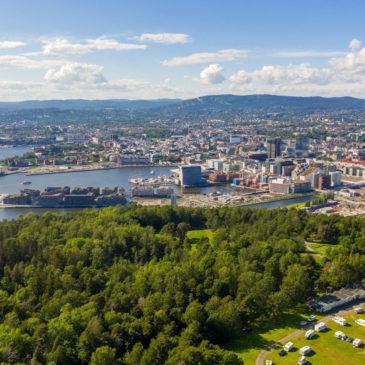 Oslo fra Ekebergsletta