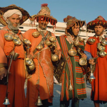 Agadir, Marokko (Morocco) 1984 og 1986