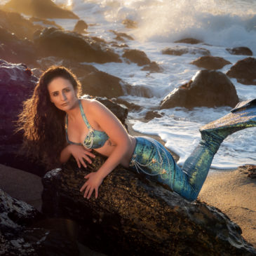 Successful photo session of Mermaid