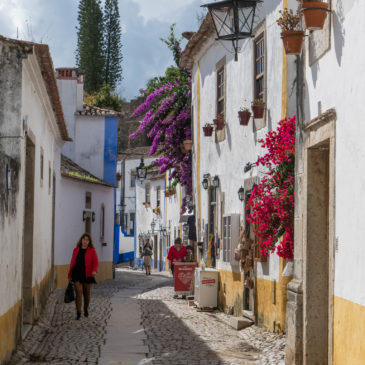 Óbidos, Portugal. 22th of October 2020