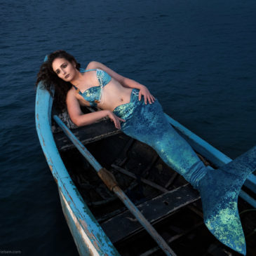 """Mermaid in the dark sea"" – and how we made it"